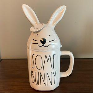 Rae Dunn Some Bunny Loves You Mug NWT
